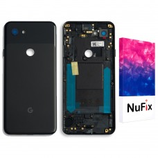 "Google Pixel 3a 5.6"" Back door cover Replacement Back battery door panel housing Original color and Shape with Camera lens and Adhesive sticker for Pixel 3a"
