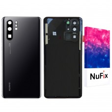 Huawei P30 Pro Back door cover Replacement Back battery door panel housing Original color with Camera lens and Adhesive sticker for P30 Pro L04 AL10 L09 L29