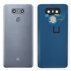 LG G6 Back Glass Replacement with Camera lens Fingerprint Back
