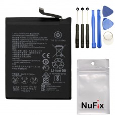 NuFix Battery Replacement for Huawei P20 Pro HB436486ECW 4000mah with tools CLT-L04