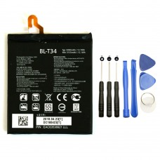 NuFix Battery Replacement for LG V30 BL-T34 3300mAh with repair tools H933 H932 H931 H930