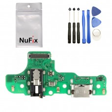 NuFix Replacement for Samsung Galaxy A20s Charging Port Flex Connector board module PCB Part dock connector usb cable for Samsung Galaxy A20s A207F A207DS A207M A2070