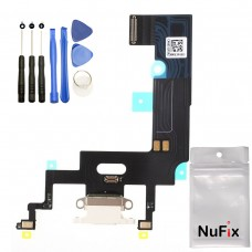 iPhone XR Charging Port Flex Connector board module PCB Part dock connector usb cable for iPhone XR A1984 A2105 A2106 A2108