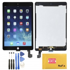 NuFix LCD Replacement for Apple iPad Air 2 display screen lcd assembly with Tools A1566 A1567