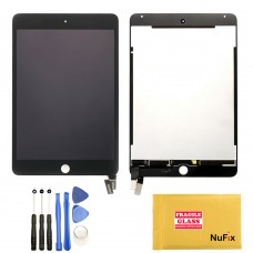 NuFix LCD Replacement for Apple iPad Mini 4 display screen lcd assembly with Tools A1538 A1550