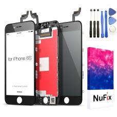 NuFix LCD Replacement for Apple iPhone 6S Screen Glass LCD Display Touch Digitizer assembly with Frame and Tools