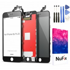 NuFix LCD Replacement for Apple iPhone 6S Plus Screen Glass LCD Display Touch Digitizer assembly with Frame and Tools