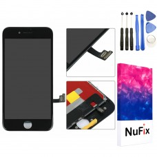 NuFix LCD Replacement for Apple iPhone 8 Screen Glass LCD Display Touch Digitizer assembly with Frame and Tools