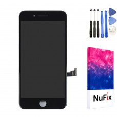 NuFix LCD Replacement for Apple iPhone 8 Plus Screen Glass LCD Display Touch Digitizer assembly with Frame and Tools