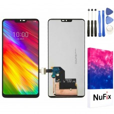 NuFix LCD Replacement for LG G7 ThinQ / G7 One Screen Glass LCD Display Touch Digitizer assembly with Adhesive and Tools