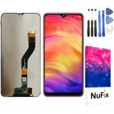 NuFix LCD Replacement for Samsung Galaxy A10s SM-A107 SM-A107F SM-A107DS SM-A107M Screen Glass LCD Display Touch Digitizer assembly with Adhesive and Tools