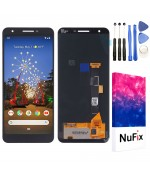 """NuFix LCD Replacement for Google Pixel 3A 5.6"""" Screen Glass LCD Display Touch Digitizer assembly with Tools and Adhesive G020G G020E G020F G020H"""