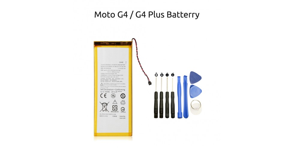 Motorola Moto G4 / G4 Plus battery replacement