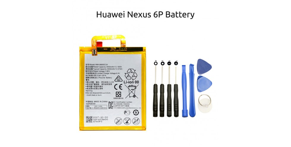 Huawei Google nexus 6P battery